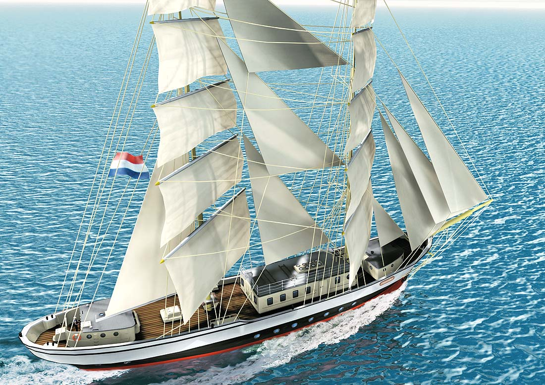 "Mercedes For Sale >> Design Study: Classic Brig ""Mercedes"" - Hugo Hein & Partners - 0045 2081 9746, Tall ship ..."