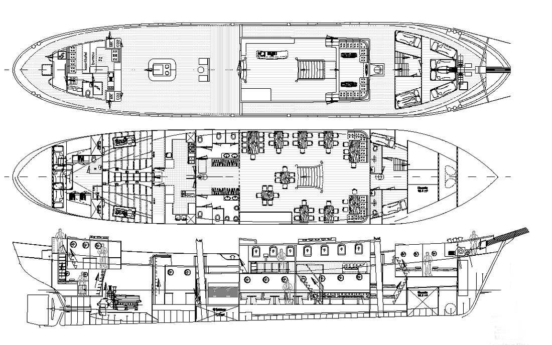 sailing ship deck plans Quotes